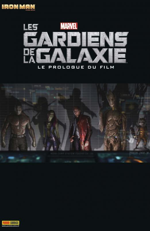 Iron Man (revue) – Hors série, T5 : Les Gardiens de la Galaxie - le prologue du film (0), comics chez Panini Comics de Abnett, Lanning, Govar, Alves, Di Vito, Ramos, Villari