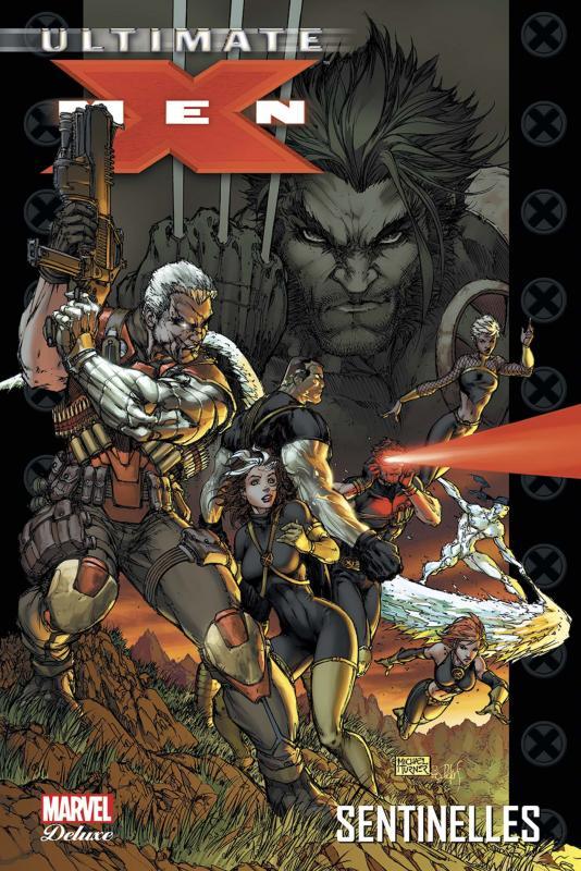Ultimate X-Men – Deluxe, T8 : Sentinelles (0), comics chez Panini Comics de Kirkman, McKeever, Larroca, Oliver, Alixe, Brooks, Paquette, Rauch, Peru, Keith, Villarrubia, Finch