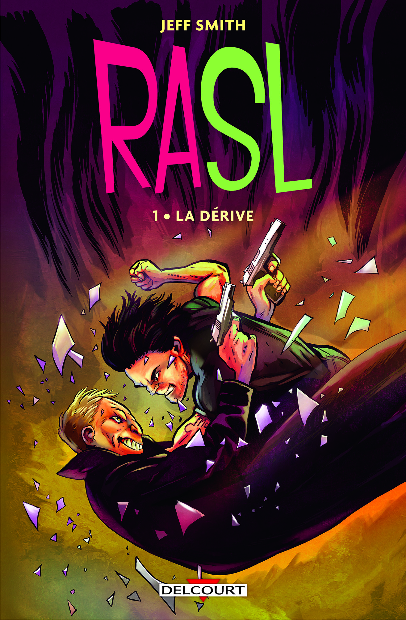 Rasl T1 : La dérive (0), comics chez Delcourt de Smith, Hamaker, Gaadt