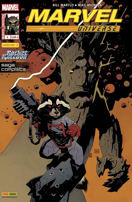 Marvel Universe – V 3, T6 : Les contes du demi-monde (0), comics chez Panini Comics de Lanning, Abnett, Mantlo, Mignola, Green II, Scheele, Fairbairn