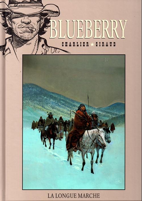 Blueberry – cycle 7 : Blueberry fugitif, T19 : La longue marche (0), bd chez Hachette de Charlier, Rouge, Giraud