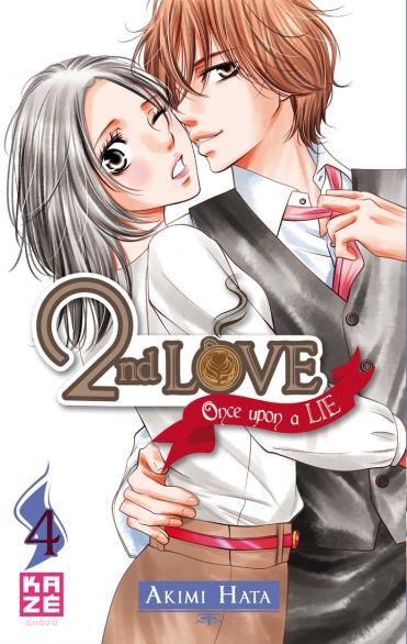 2nd love - once upon a lie  T4, manga chez Kazé manga de Hata