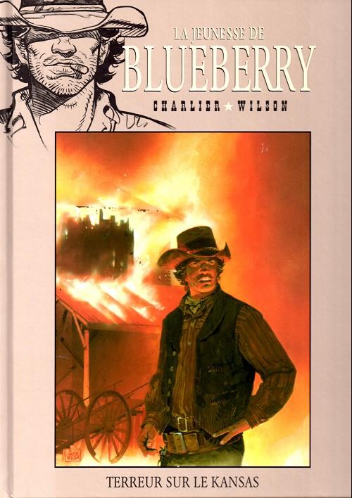 La jeunesse de Blueberry T5 : Terreur sur le Kansas (0), bd chez Hachette de Charlier, Wilson, Gale