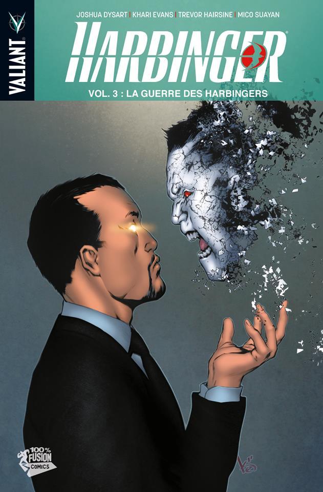 Harbinger – version librairie, T3 : La guerre des Harbingers (0), comics chez Panini Comics de Dysart, Hairsine, Suayan, Evans