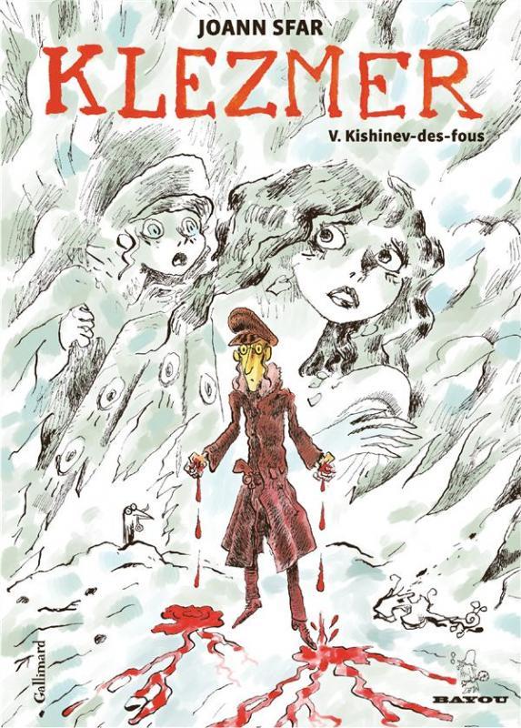 Klezmer T5 : Kishinev-des-fous (0), bd chez Gallimard de Sfar