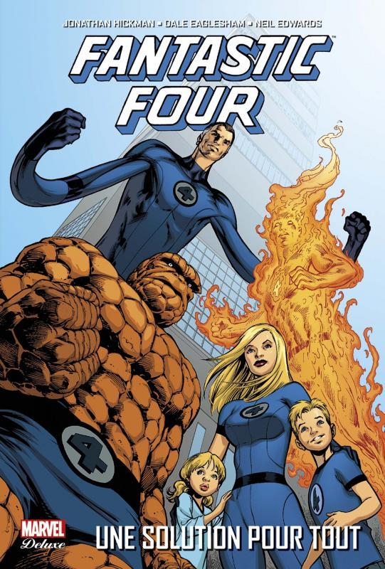 Fantastic Four – par Jonathan Hickman, T1 : Une solution pour tout (0), comics chez Panini Comics de Hickman, Edwards, Eaglesham, Mounts, Davis