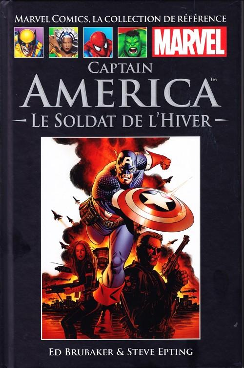 Marvel Comics, la collection de référence T41 : Captain America - Le soldat de l'hiver (0), comics chez Hachette de Brubaker, Epting, Lark, Perkins, d' Armata