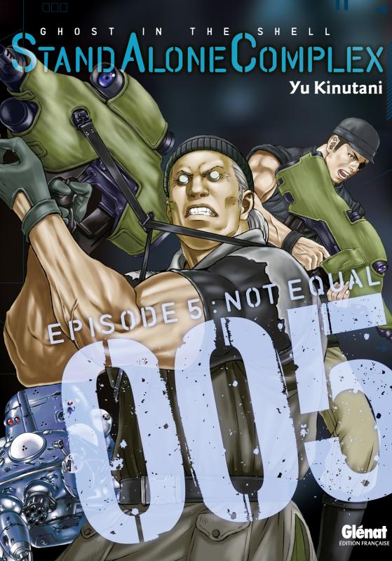 Ghost in the Shell - Stand alone complex  T5 : , manga chez Glénat de Shirow, Kinutani