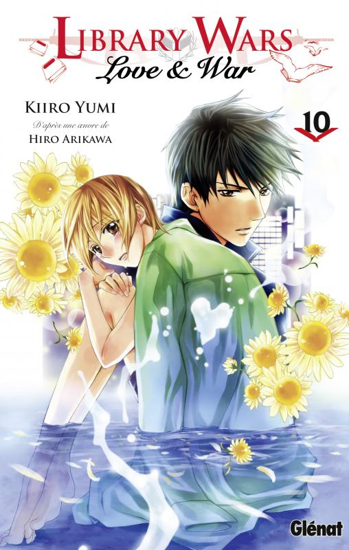 Library wars - Love & war  T10, manga chez Glénat de Arikawa, Yumi