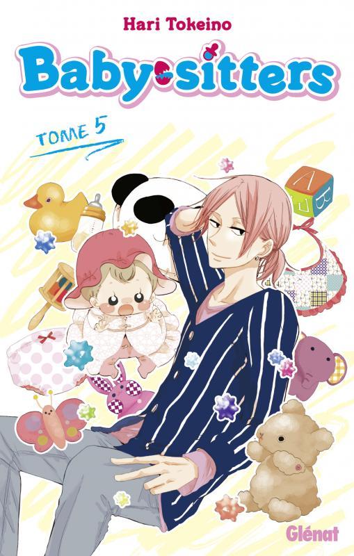 Baby sitters T5, manga chez Glénat de Tokeino