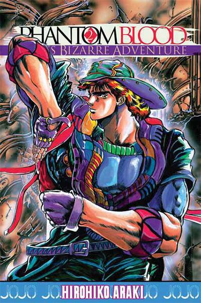 Jojo's Bizarre Adventure - Phantom blood  T2, manga chez Tonkam de Araki