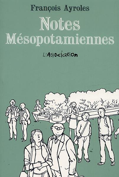 Notes mésopotamiennes, bd chez L'Association de Ayroles