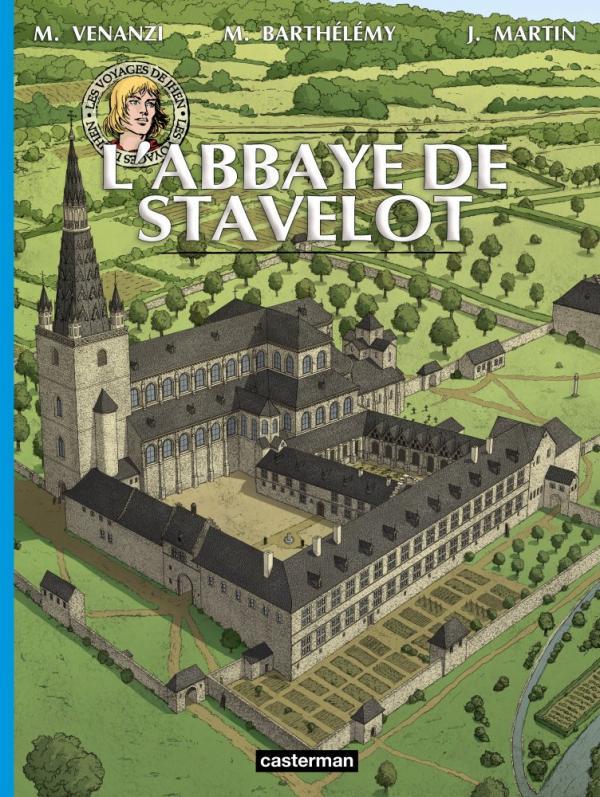 Les Voyages de Jhen : L'abbaye de Stavelot (0), bd chez Casterman de Venanzi, Barthélemy