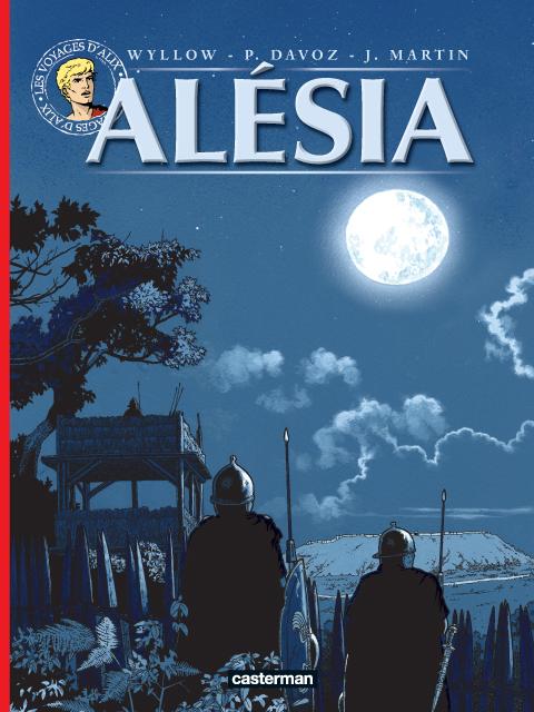 Alésia, bd chez Casterman de Davoz, Wyllow, Torton