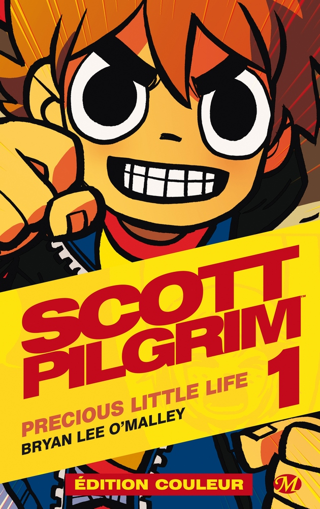 Scott Pilgrim T1 : Precious little life (0), comics chez Milady Graphics de O'Malley, Fairbairn