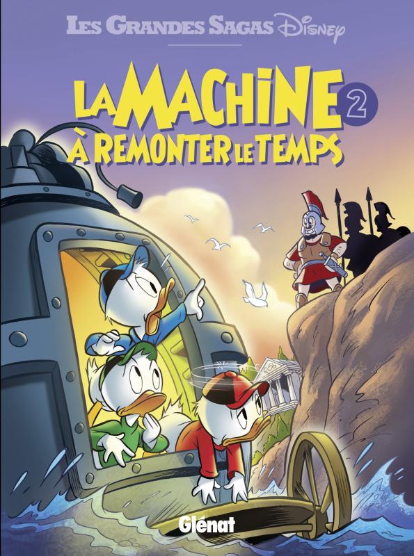 La Machine à remonter le temps T2, comics chez Glénat de Collectif