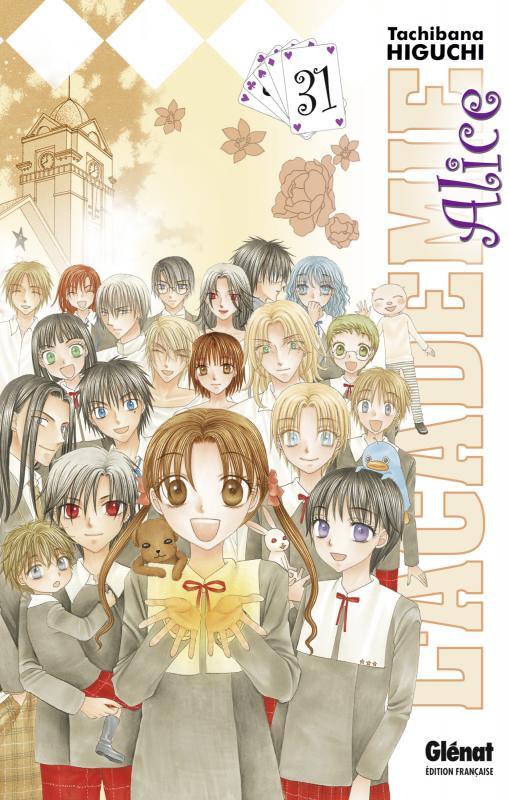 L'académie Alice T31, manga chez Glénat de Higuchi