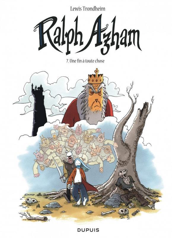 Ralph Azham – cycle 2, T7 : Une fin à toute chose (0), bd chez Dupuis de Trondheim, Findakly