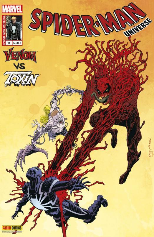 Spider-Man Universe – V. 1, T11 : Venom vs Toxin - La nuit des tueurs de symbiotes (0), comics chez Panini Comics de Bunn, Jacinto, Larraz, Loughridge, Shalvey