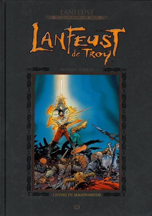 Lanfeust et les mondes de Troy T1 : Lanfeust de Troy - L'ivoire du Magohamoth (0), bd chez Hachette de Arleston, Tarquin, Livi, Vincent