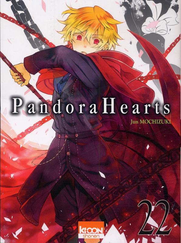 Pandora Hearts T22, manga chez Ki-oon de Mochizuki