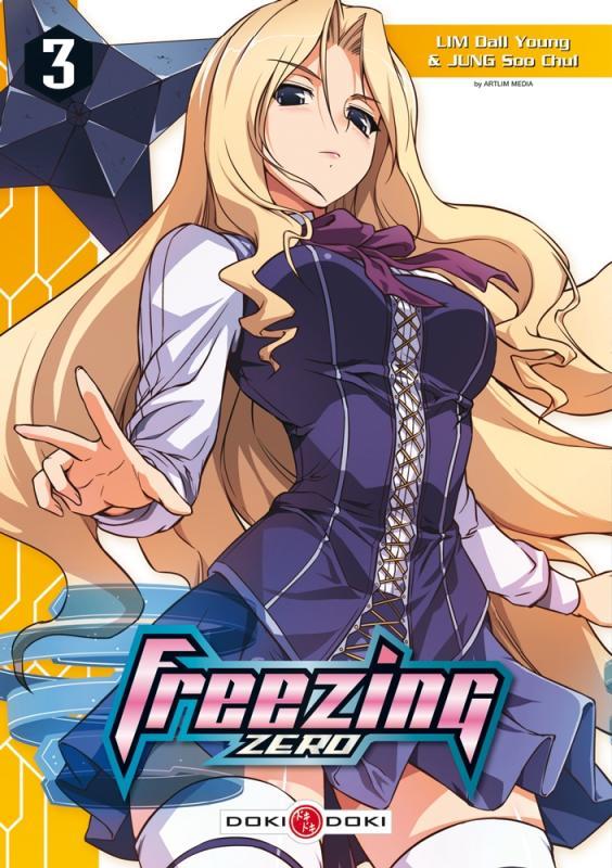 Freezing zero T3, manga chez Bamboo de Lim, Chul