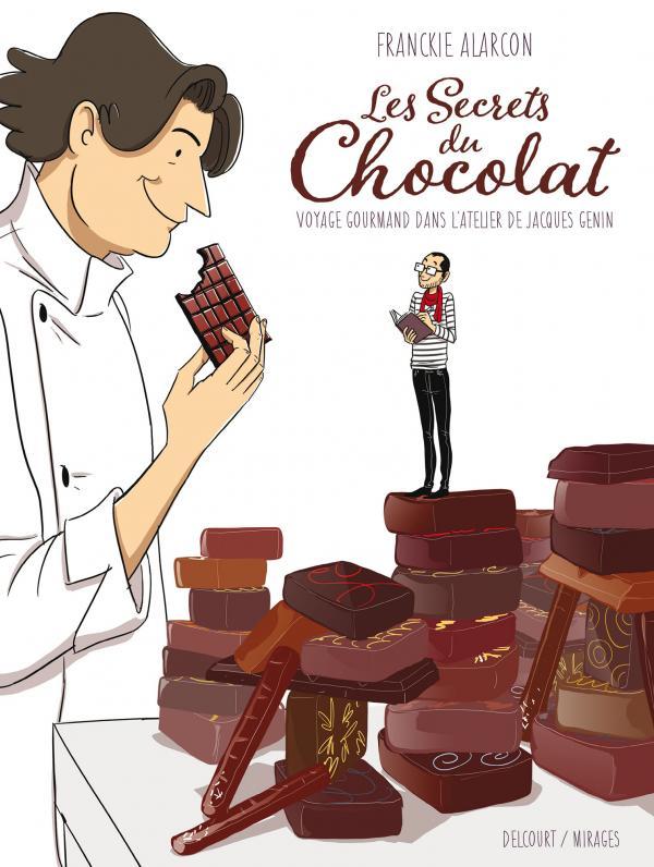 Secrets du chocolat, bd chez Delcourt de Alarcon