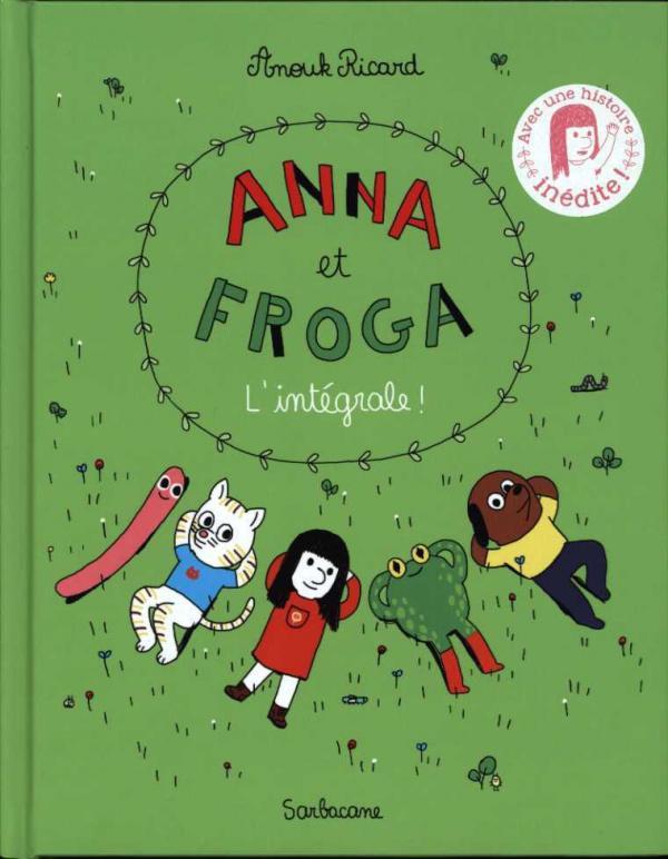 Anna et Froga, bd chez Sarbacane de Ricard