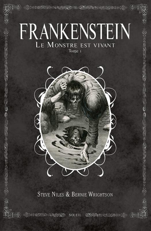 Frankenstein, le monstre est vivant T1, comics chez Soleil de Niles, Wrightson