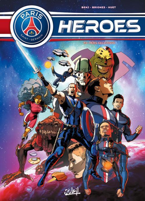 PSG Heroes T2 : Péril galactique (0), bd chez Soleil de Ferré, Briones