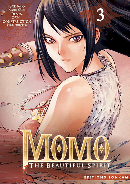 Momo - the beautiful spirit T3, manga chez Tonkam de Okina, Z-One