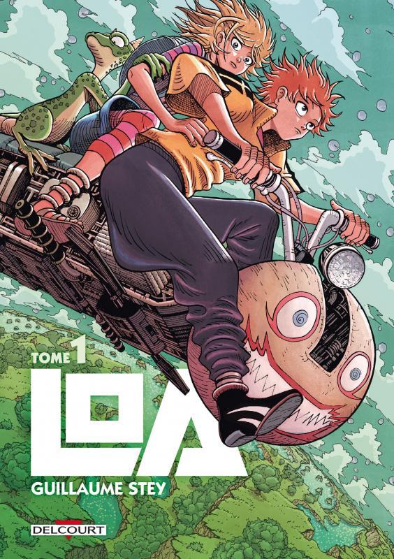 Loa T1 : , manga chez Delcourt de Stey