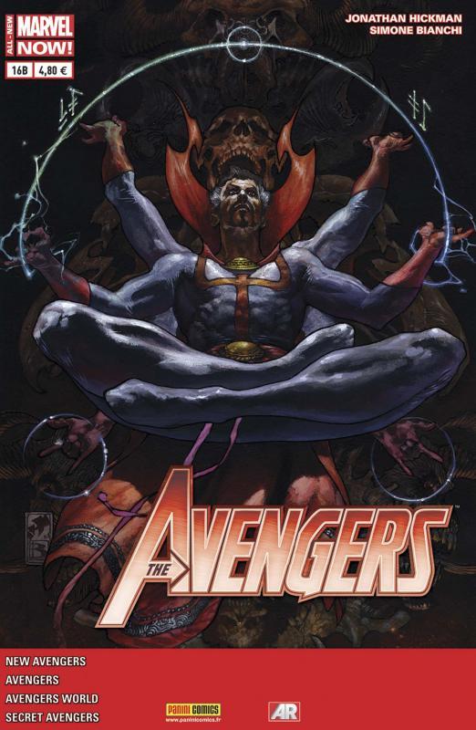 The Avengers (revue) – V 4, T16 : Regarde bien... Il n'y a pas d'issue (0), comics chez Panini Comics de Spencer, Kot, Hickman, Bianchi, Caselli, Guice, Larroca, Wilson, Fabela, Dell'Alpi, Martin jr, Delgado