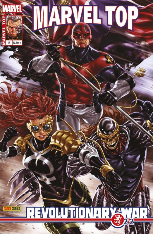 Marvel Top T15 : Revolutionnary War (2/2) (0), comics chez Panini Comics de Brooks