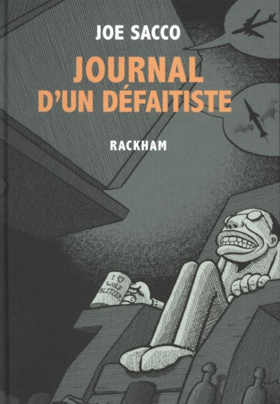 Journal d'un défaitiste, comics chez Rackham de Sacco