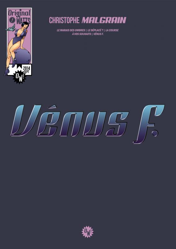 Vénus F., comics chez Original Watts de Malgrain, Green II