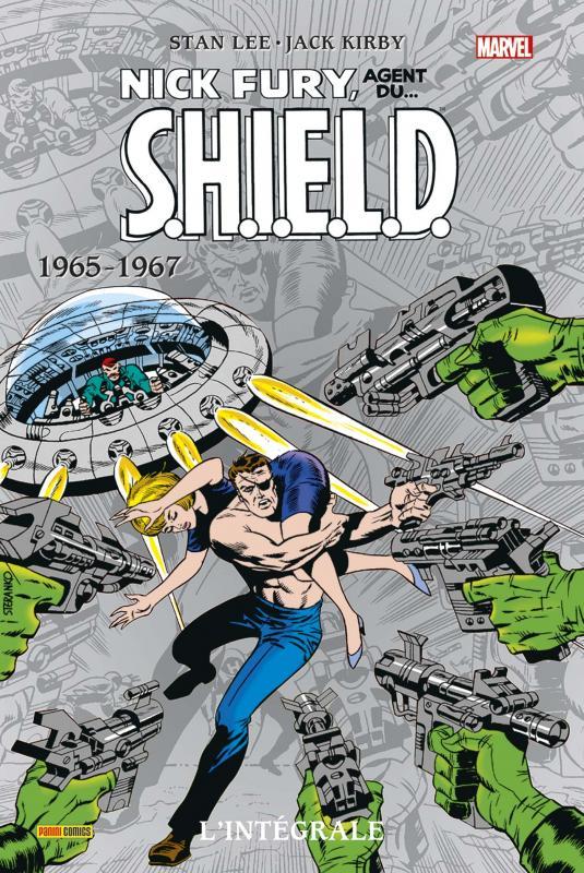 Nick Fury, agent du S.H.I.E.L.D. - l'intégrale T1 : 1965-1967 (0), comics chez Panini Comics de Thomas, Lee, O'neil, Kirby, Severin, Heck, Purcell, Jim Steranko ou Steranko, Buscema, Sinnott, Whitney, Pacific Rim Graphics, Mullin