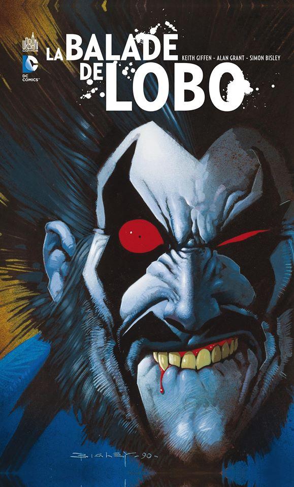 La balade de Lobo, comics chez Urban Comics de Giffen, Grant, Alamy, Bisley, Vozzo, Kindzierski