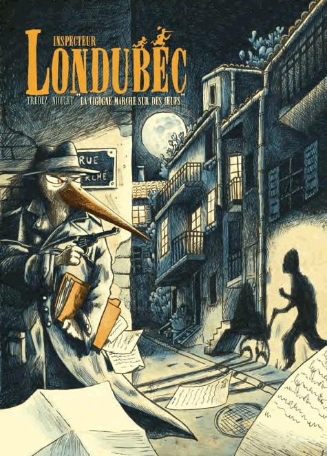 L'Inspecteur Londubec, bd chez Les éditions du Long Bec de Trédez, Nicolet