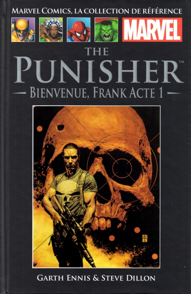 Marvel Comics, la collection de référence T21 : The Punisher - Bienvenue, Frank (acte 1) (0), comics chez Hachette de Ennis, Dillon, Sotomayor, Bradstreet