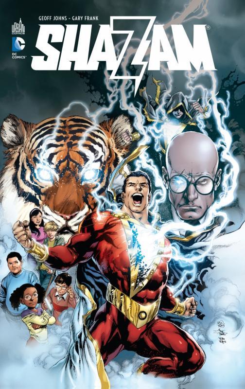 Shazam, comics chez Urban Comics de Johns, Frank, Anderson