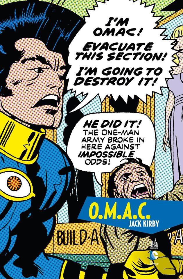 O.M.A.C., comics chez Urban Comics de Kirby