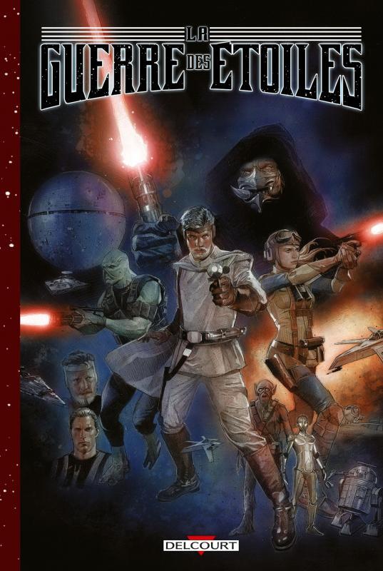 La Guerre des étoiles, comics chez Delcourt de Rinzler, Mayhew, Beredo