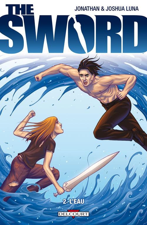 The Sword T2 : L'eau (0), comics chez Delcourt de Luna, Luna