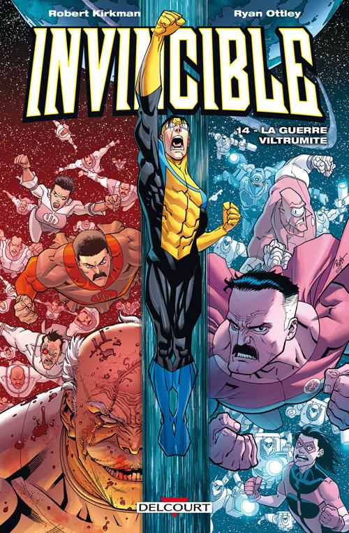 Invincible T14 : La guerre Viltrumite (0), comics chez Delcourt de Kirkman, Ottley, Rathburn, FCO Plascencia