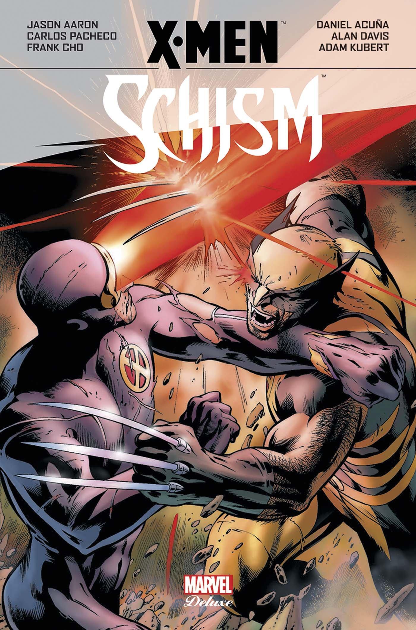 X-Men : Schism (0), comics chez Panini Comics de Gillen, Jenkins, Aaron, Pacheco, Acuña, Smith, Roberson, Tan, De La Torre, Davis, Cho, Kubert, Conrad, d' Armata, Keith, Mossa