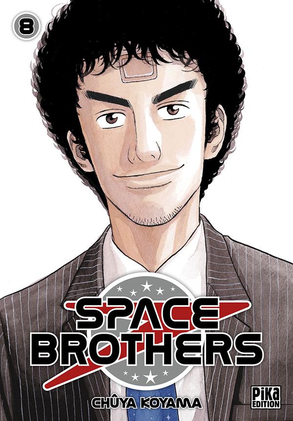 Space brothers T8, manga chez Pika de Koyama
