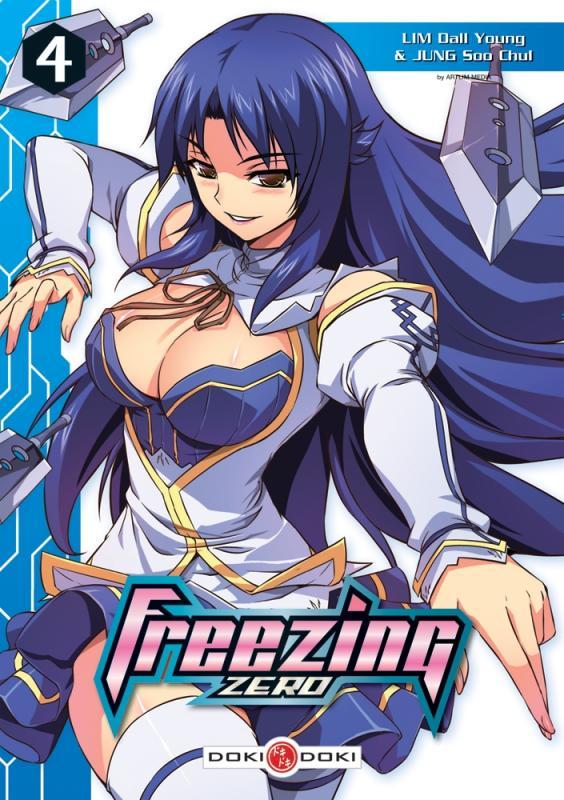 Freezing zero T4, manga chez Bamboo de Lim, Chul