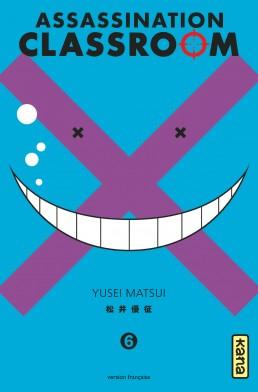 Assassination classroom T6, manga chez Kana de Yusei