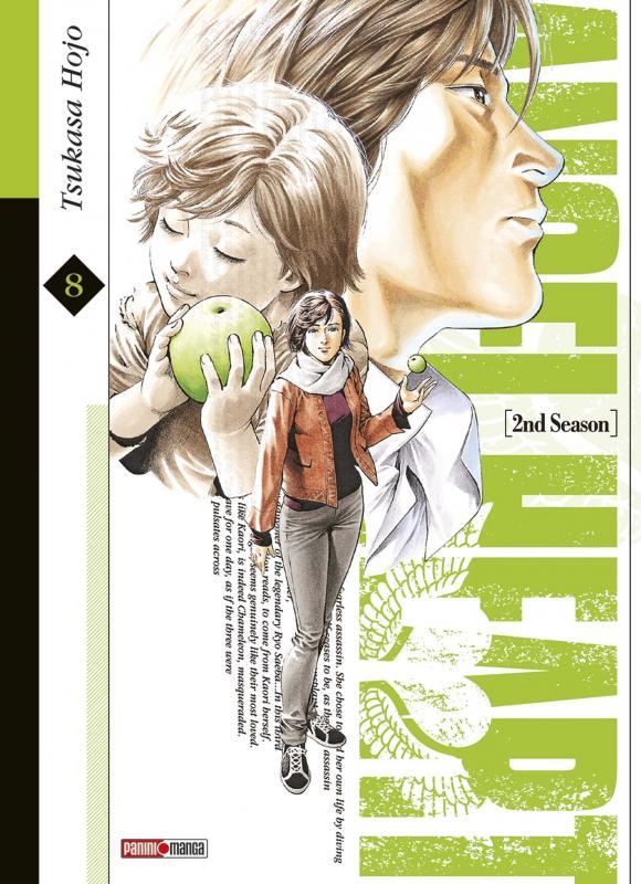 Angel heart – 2nd Season, T8, manga chez Panini Comics de Hôjô